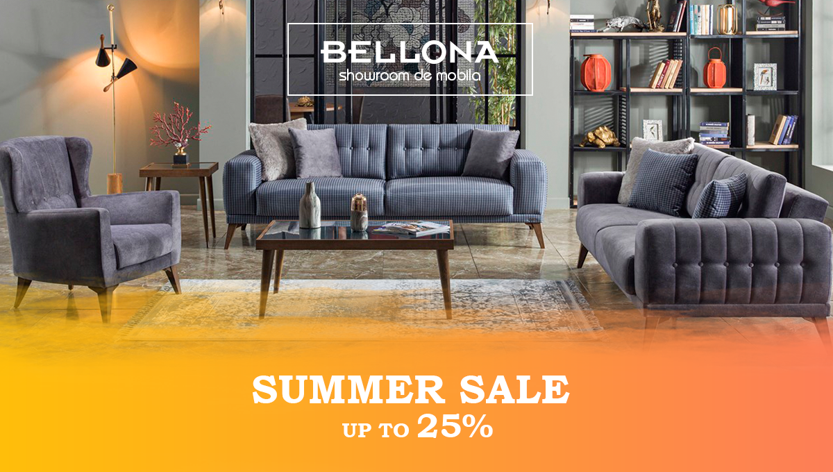 Summer sales up to 25%