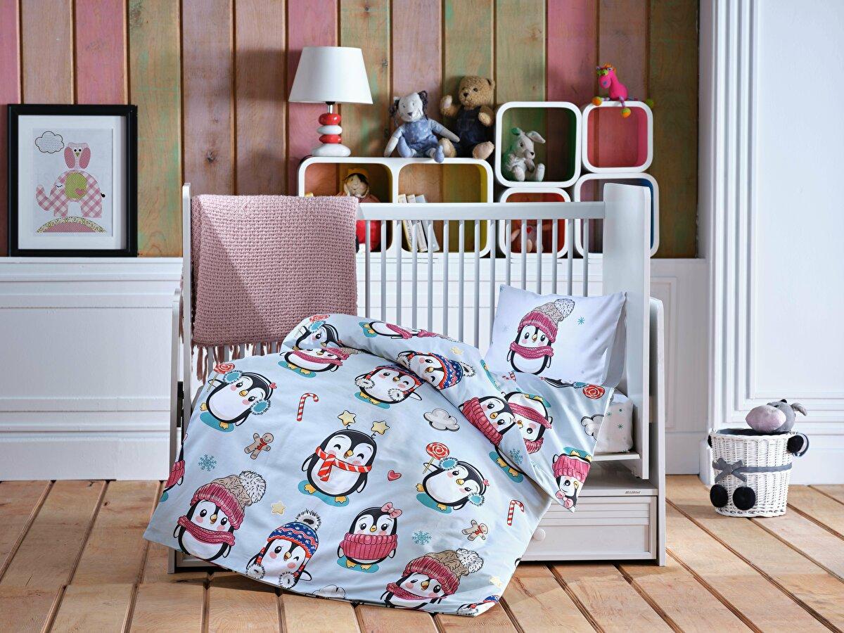 Cute Penguin Baby Комплект Постельного Белья